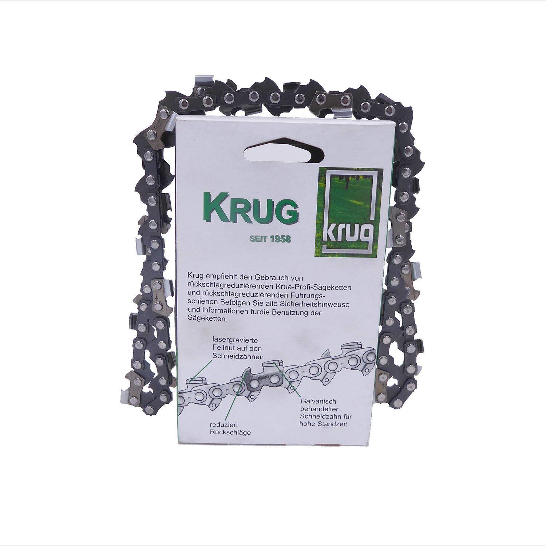 """Schwert 2 Ketten passend für Dolmar PS5105C 45 cm 3//8/"""" 68 TG 1,5 mm Sägekette"""