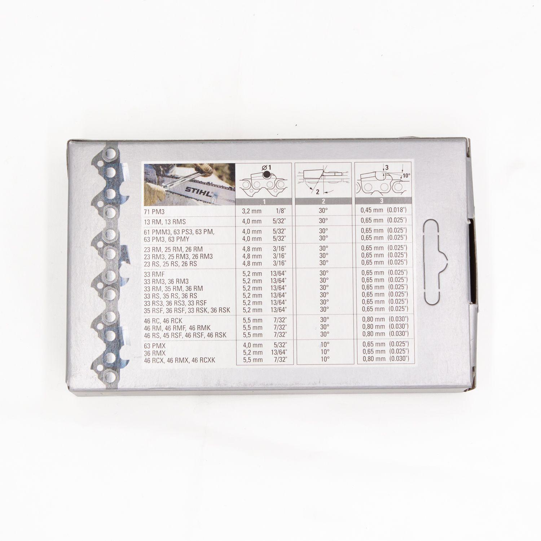 PS 3//8P 1.3 mm 50 TG Vollmeissel Stihl Sägekette Picco Super