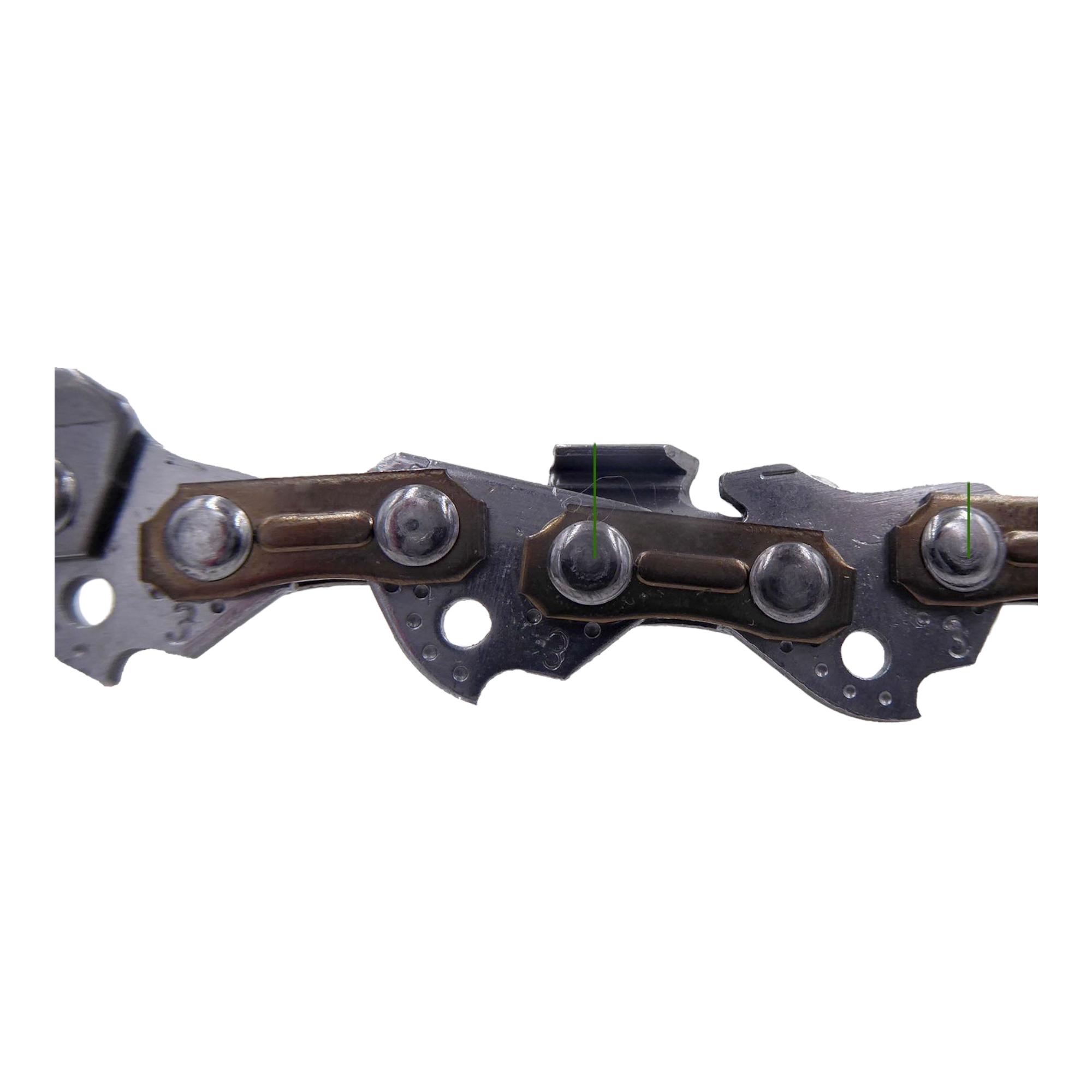 3 Stück Oregon Sägekette 3//8P 1.3 mm 47 TG Ersatzkette
