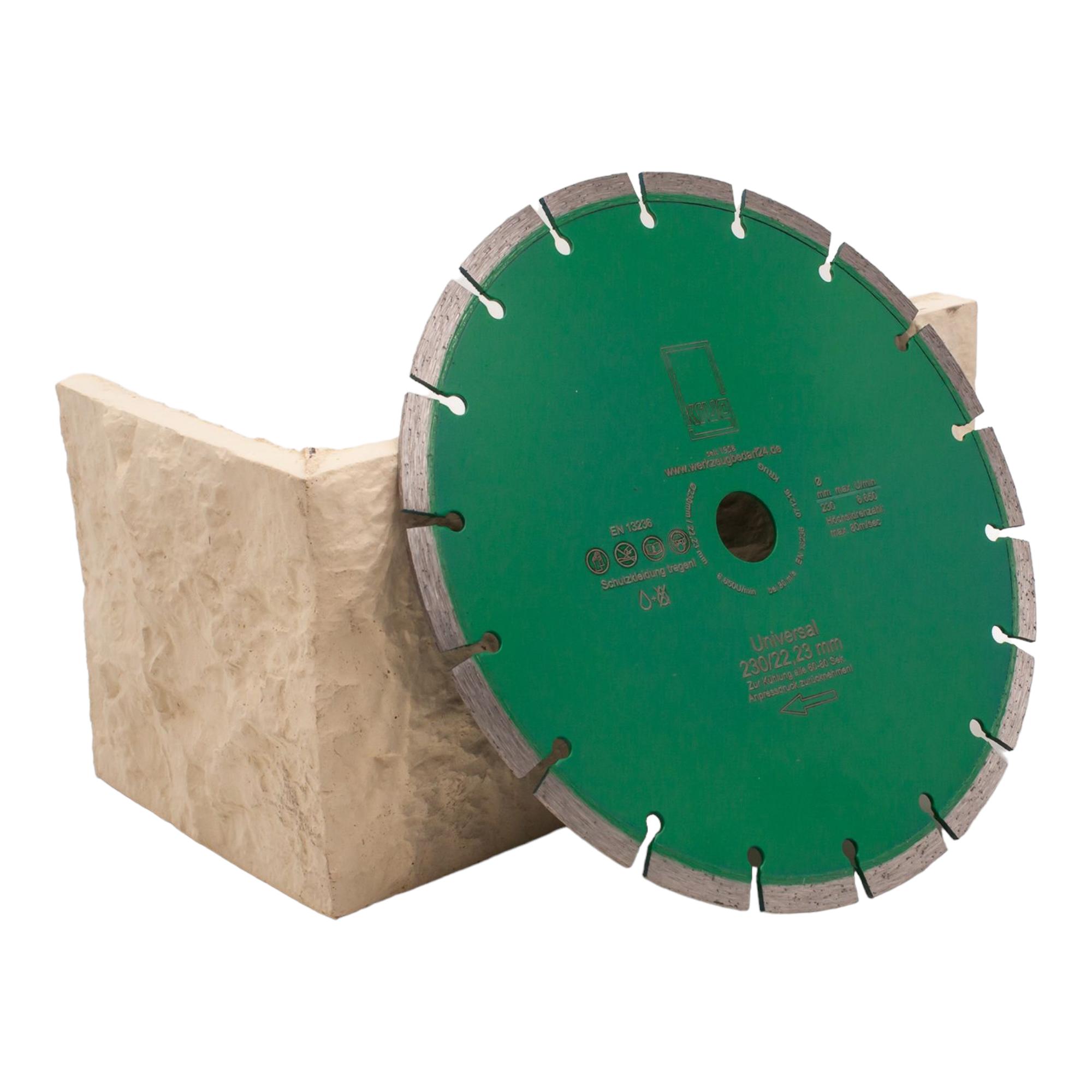 diamantscheibe green cut beton universal 230 mm 3st. Black Bedroom Furniture Sets. Home Design Ideas
