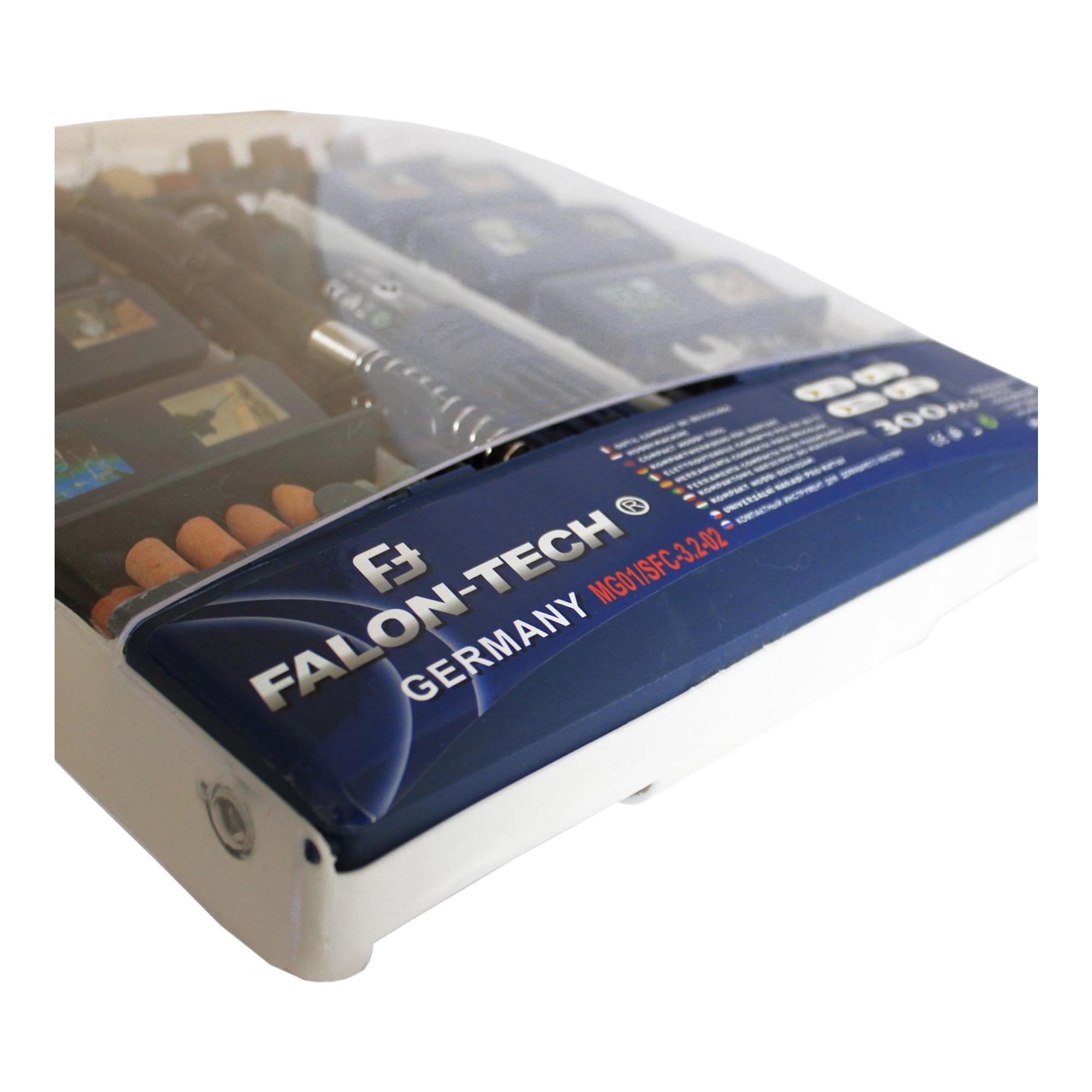 Falon-Tech Mini-Schleifer-Set MG01 300tlg. Firma i Przemysł Narzędzia, sprzęt warsztatowy