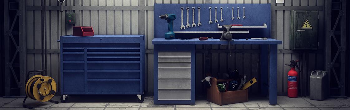Werkstatteinrichtung Werkzeugbedarf24de
